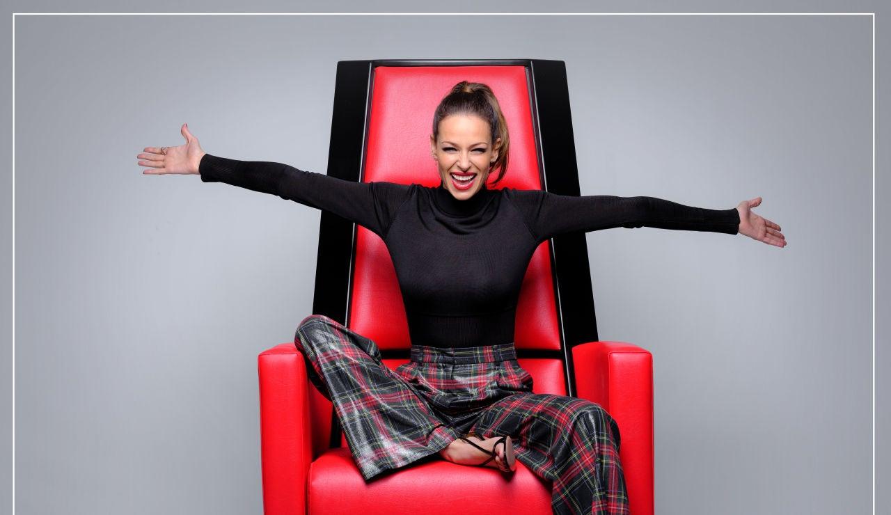 Eva González, presentadora de 'La Voz Kids'