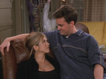 Chandler y Rachel en 'Friends'