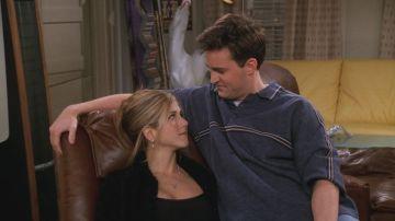 Chandler y Rachel en 'Friends'