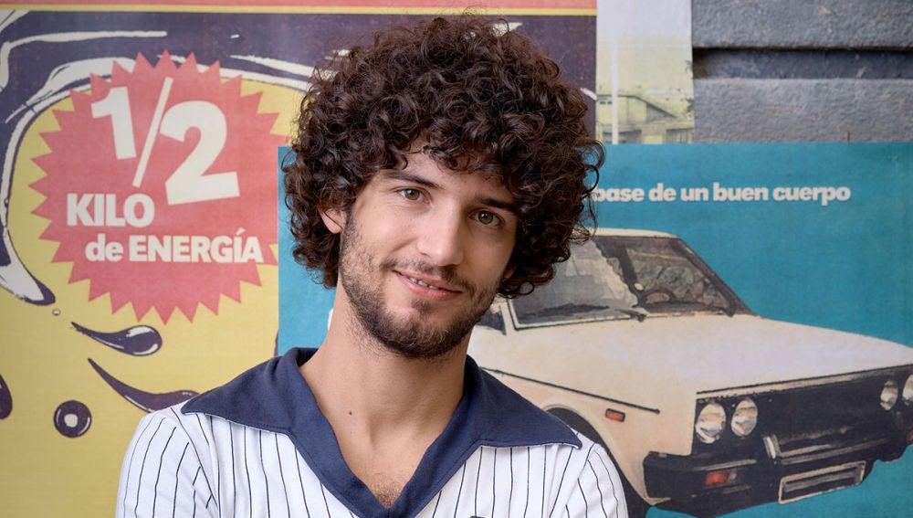 Juan de Vera es Federico Puentes, 'Fede' en 'Amar es para siempre'
