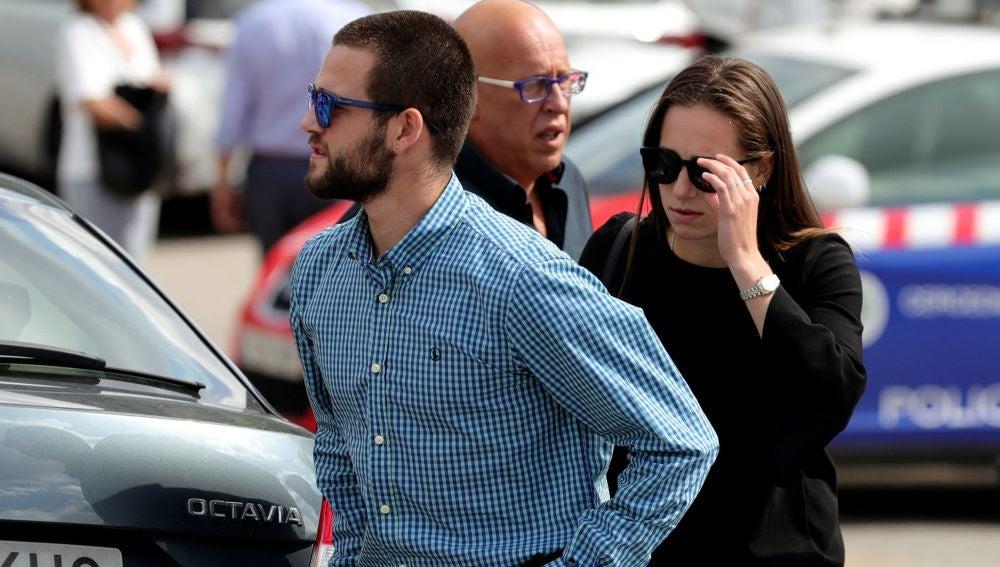 David y Olivia Fresneda, hijos de Blanca Fernández Ochoa