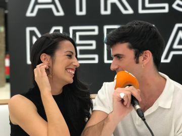 """Almudena Cid y Alejandro Vergara, sobre sus personajes en la nueva temporada de 'El secreto de Puente Viejo': """"Pertenecemos a dos familias enfrentadas"""""""