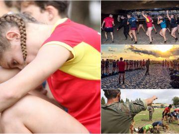 El duro entrenamiento de las Leonas en Alicante