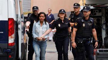Ana Julia Quezada, en la tercera jornada del juicio