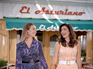 Paula Usero y Carol Rovira interpretan a Luisita y Amelia en 'Amar es para siempre'