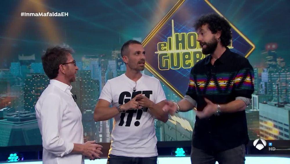 Juan y Damián en 'El Hormiguero 3.0'