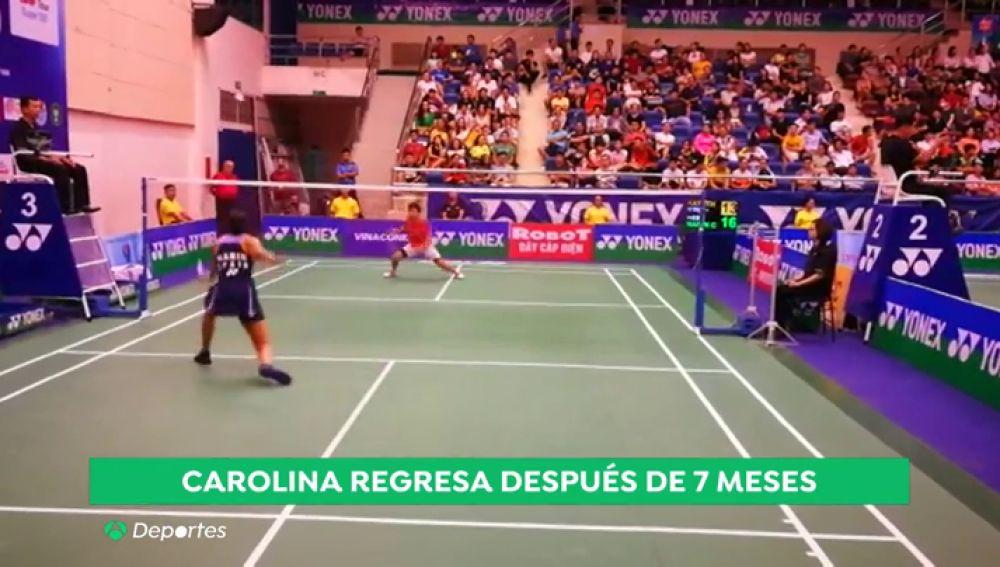 """Carolina Marín cae derrotada en su regreso a las pistas: """"Estoy bastante decepcionada por el partido de hoy"""""""