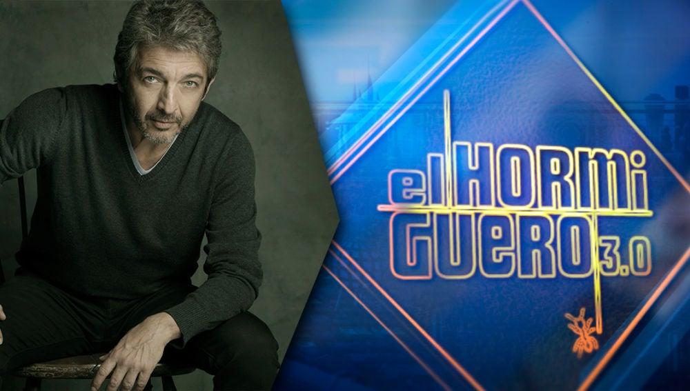 El actor Ricardo Darín regresa el próximo lunes a 'El Hormiguero 3.0'