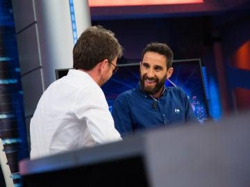 Los consejos de Pablo Motos a Dani Rovira en 'El Hormiguero 3.0' para superar una crisis de edad
