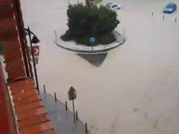 Así han quedado las calles de Ontinyent tras el paso de la DANA