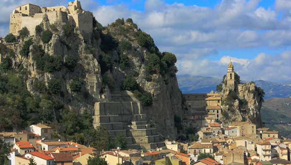 La región de  Molise en Italita