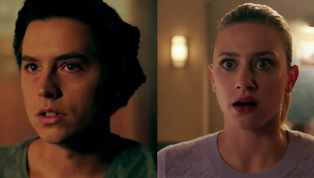 Jughead y Betty en 'Riverdale'