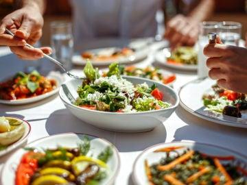Mezclar alimentos es saludable