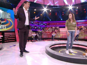 La puyita de una concursante a Arturo Valls sobre su edad en '¡Ahora caigo!'