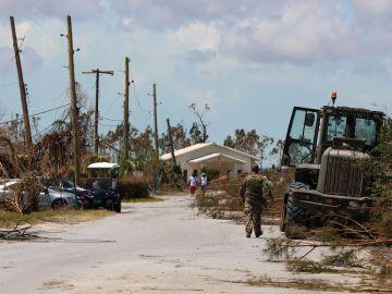Los destrozos provocados por el huracán Dorian