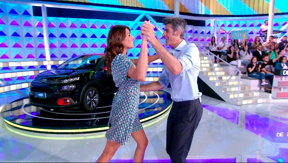 Jorge Fernández y su 'swing' para bailar, ¿habrá tomado clases?