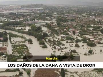 Paisaje desolador en los campos y las insfraestructuras de Murcia y Almería