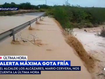 Alerta por el desbordamiento del río Segura
