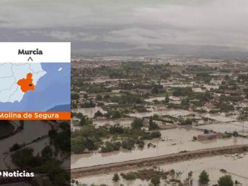 Los estragos de LA DANA en Murcia vistos desde el aire