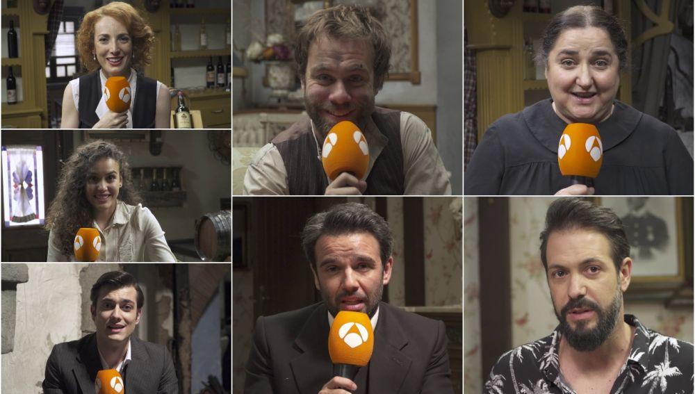 Los mensajes de despedida de los actores de 'El secreto de Puente Viejo' después de su adiós