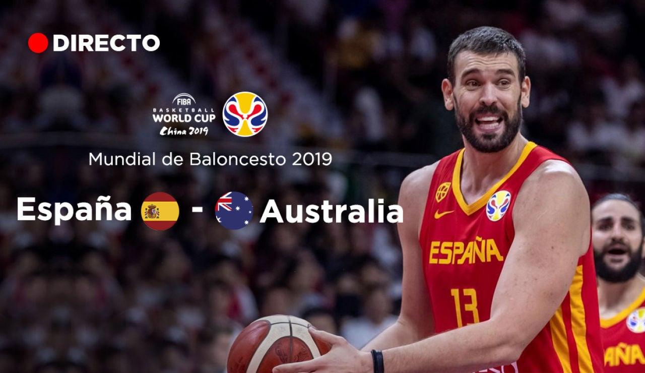 España - Australia: semifinales Mundial de Baloncesto 2019, en directo