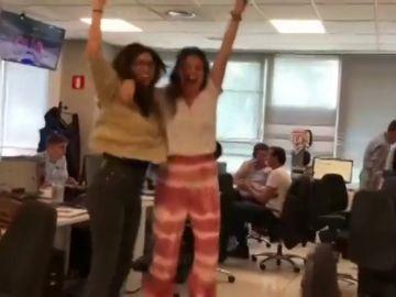 Making off: Así hemos vivido el partido entre España y Australia en la redacción de Antena 3 Deportes