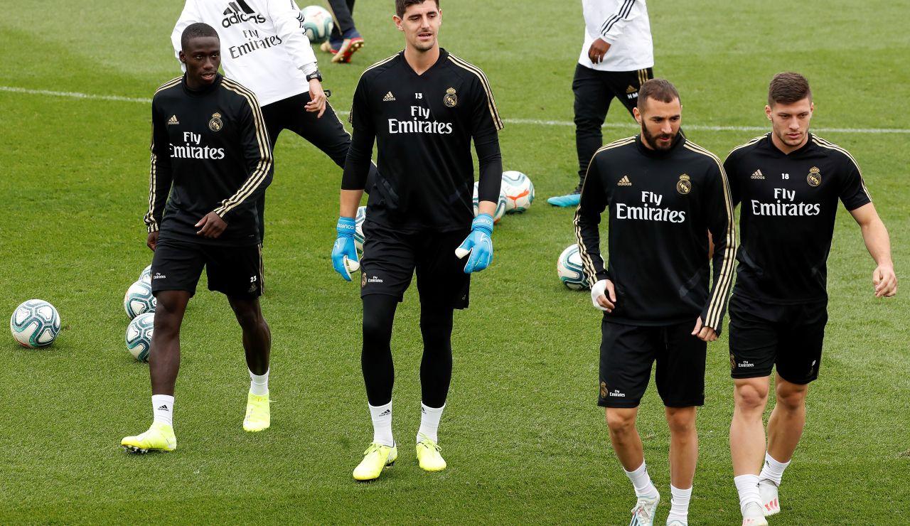 Nueva convocatoria del Real Madrid.