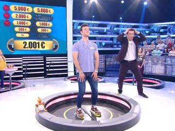 Un concursante de '¡Ahora caigo!' debuta como ventrílocuo