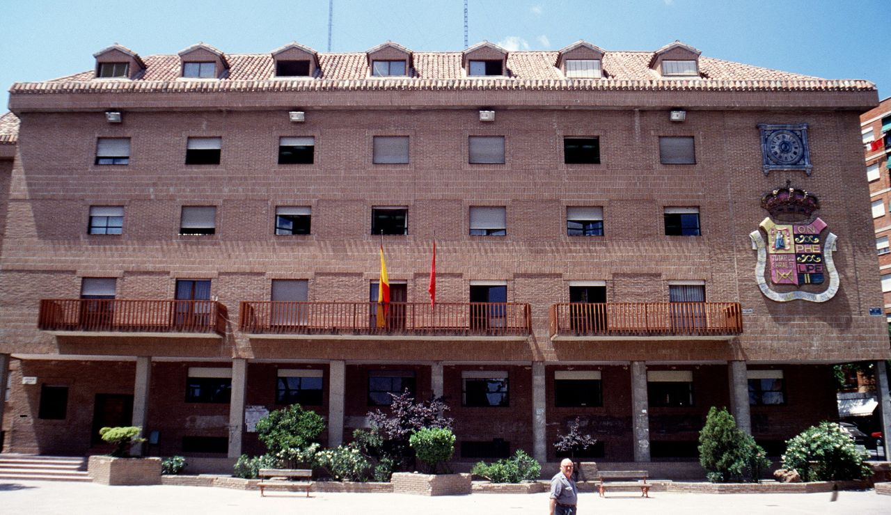 Fachada principal del Ayuntamiento de Móstoles