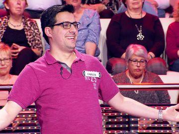 Arturo Valls duda sobre la petición de un concursante de '¡Ahora caigo!' en sus cumpleaños