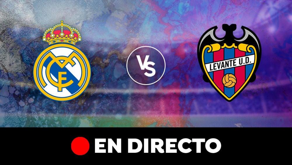 Real Madrid - Levante: Resultado del partido de hoy de la Liga Santander, en directo