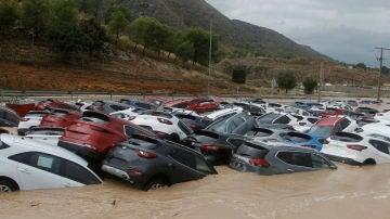 Múltiples afectados por la gota fría en España