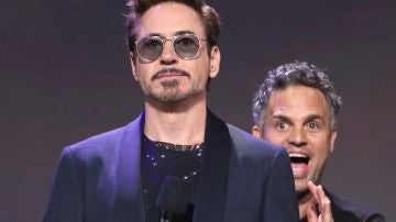 Mark Ruffalo y Robert Downey Jr, Hulk y Iron Man en 'Vengadores: Endgame'