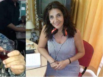 Claudia Vázquez fue agredida por su jefe, Rodolfo Ridao, en pleno directo