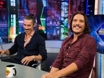 Óscar Jaenada y Sergio Peris-Mencheta confiesan en 'El Hormiguero 3.0' toda la verdad sobre el escupitajo a Rambo