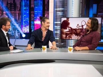 Sergio Peris-Mencheta y Óscar Jaenada cuentan en 'El Hormiguero 3.0' cómo consiguieron una foto con Sylvester Stallone