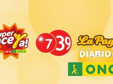 Sorteos ONCE: Resultado del Cupón Diario, Super Once y 7/39 de la ONCE hoy.