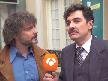 """David Janer y José Manuel Seda, sobre sus personajes: """"Nos vamos a enfrentar, somos enemigos"""""""