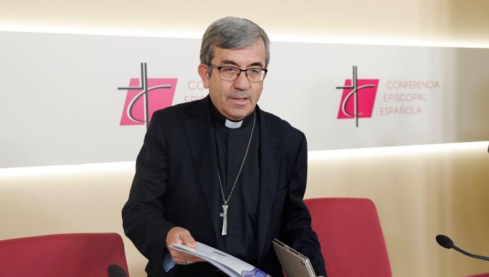 El secretario general y portavoz de la Conferencia Episcopal Española