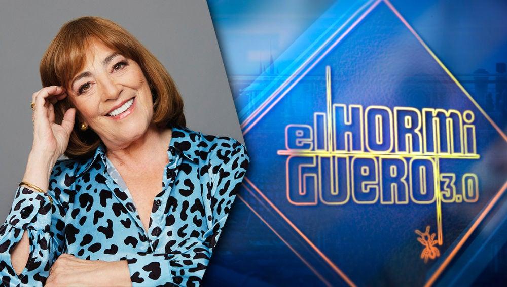 El miércoles, noche de cine en 'El Hormiguero 3.0' con una de nuestra mejores actrices, Carmen Maura