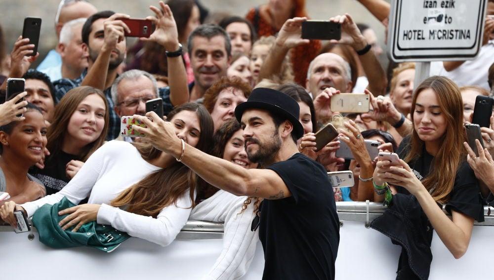 Mario Casas en el Festival de Cine de San Sebastián