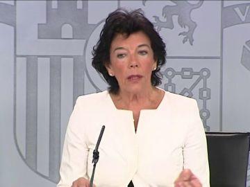 El Gobierno advierte a la Generalitat con la aplicación del 155