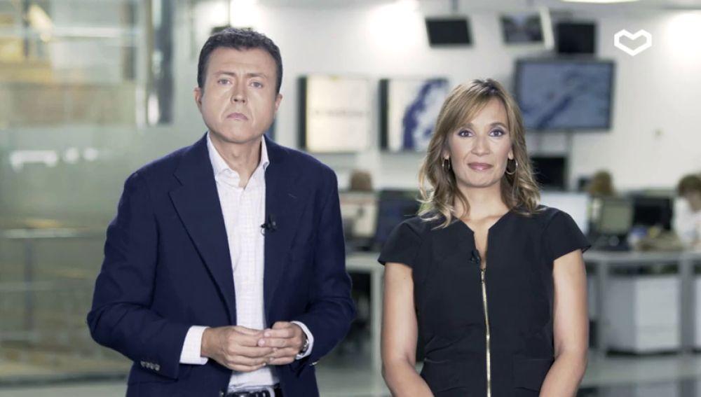 El mensaje de Manu Sánchez y Rocío Martínez contra la violencia de género