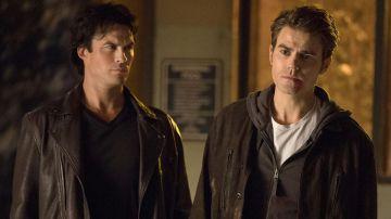 Ian Somerhalder y Paul Wesley como Stefan y Damon en 'Crónicas Vampíricas'