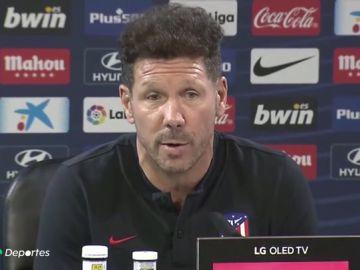 """Simeone: """"Nunca imaginé estar como estamos cuando vine de Argentina"""""""