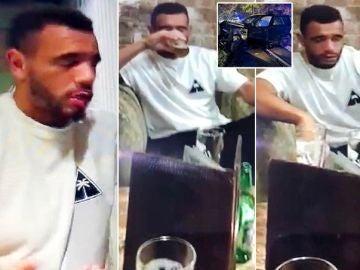 Publican los vídeos de Mason Benentt vomitando borracho antes de estrellar su coche