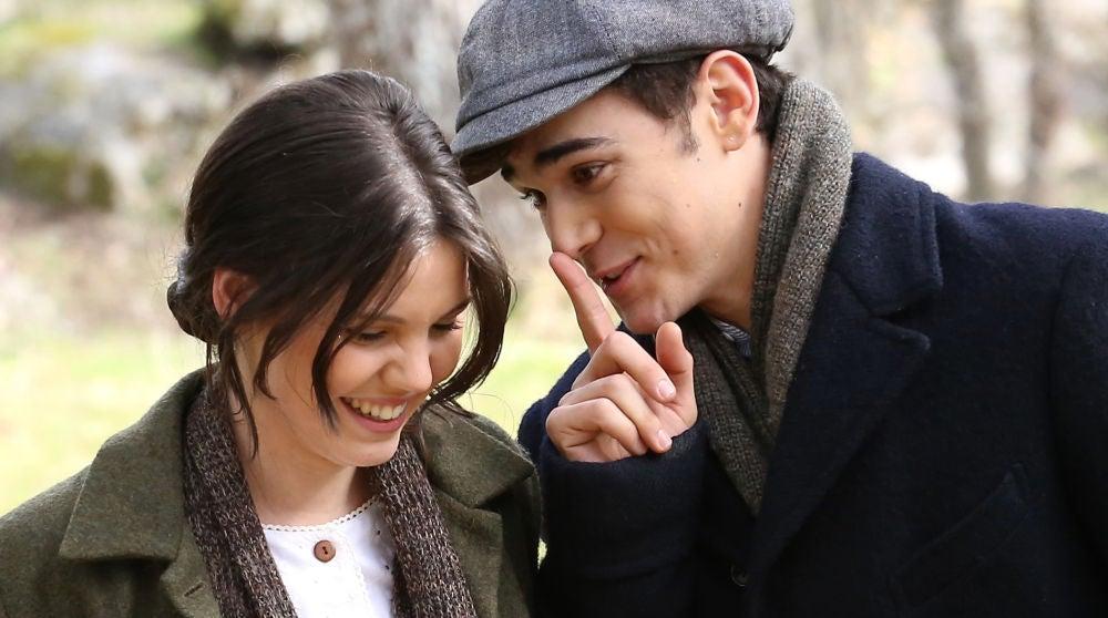 Marcela y Matías en 'El secreto de Puente Viejo'