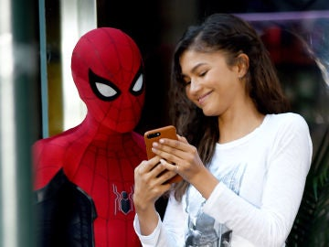Zendaya y Tom Holland en 'Spider-Man'