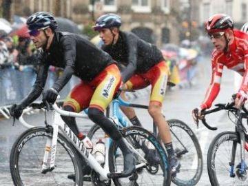 Alejandro Valverde en el Mundial 2019 de ciclismo