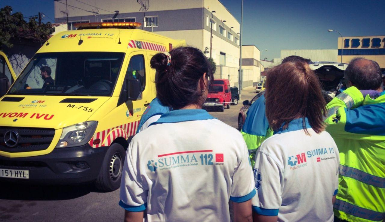El equipo médico del #SUMMA112